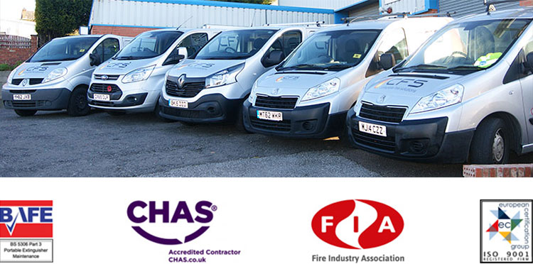 Complete Fire Solutions Fleet and Accreditations